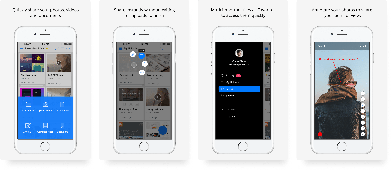 Jumpshare App Store